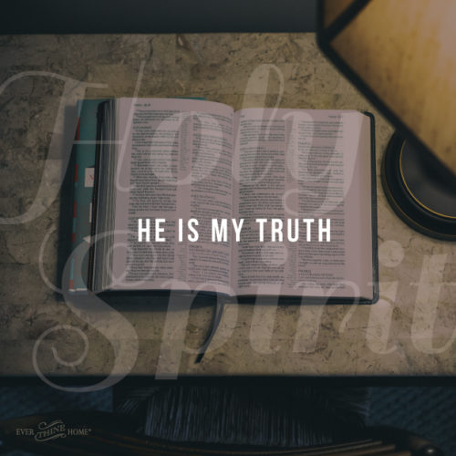 god spirit guides us into all truth