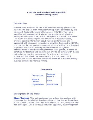 write from dictation score guide